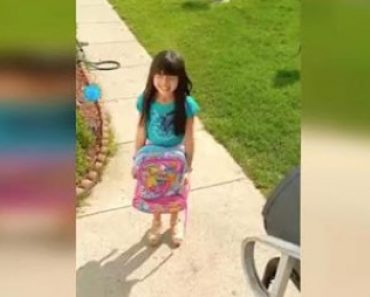 Little Girl Is Elated After Being Reunited with Her Missing Dog